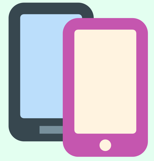 two_smartphones png